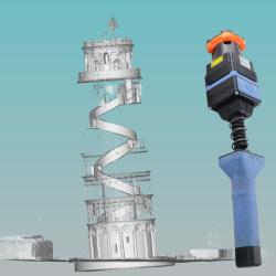 El Primer Mapa 3D de la Torre de Pisa