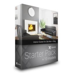 Modelos 3D Gratis III | Starter Pack de CGAxis