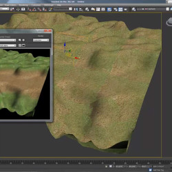 Tutorial | Terreno con Vertex Paint en 3Ds Max