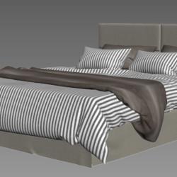 Modelos 3D Gratis XV   Juego de Cama