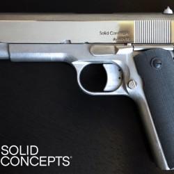 La Primera Arma de Fuego de Metal Impresa en 3D