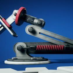 Tutorial de Modelación y Rigging para un Brazo Robot en Cinema 4D