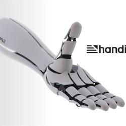 Handie | La Mano Robot Impresa en 3D
