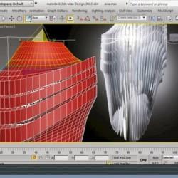 Modelando la Lámpara Avia de Zaha Hadid