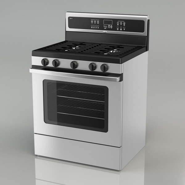 Modelos 3d Gratis Xxxv Cocina A Gas Ejezeta