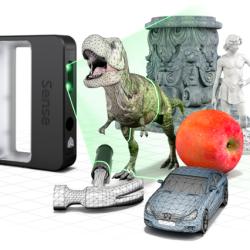 3D Systems Lanza Sense, un Scanner 3D Portátil por $399