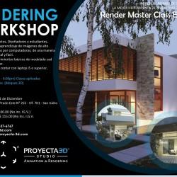 Proyecta-3D Studio | Workshop de Renderizado
