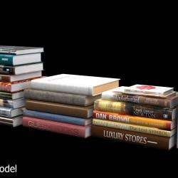 Modelos 3D Gratis XLVIII | Libros