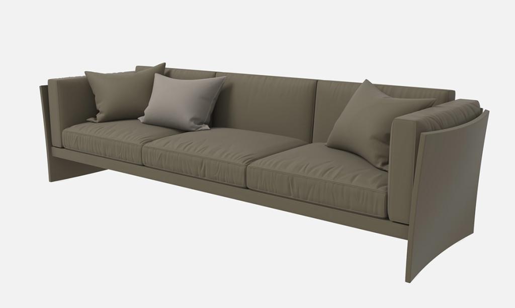 Cassina-Sofa