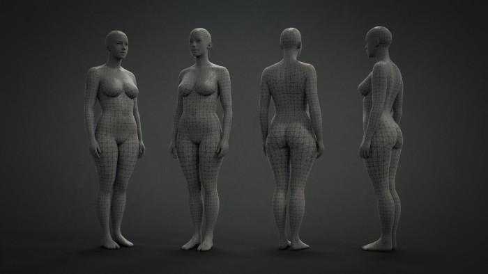 ZBrush | Mesh Base - Mujer