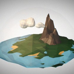"Aprende a Crear Mundos ""Low Poly"" en Cinema 4D"