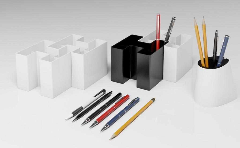 Modelos 3d gratis lxv accesorios de oficina ejezeta for Accesorios de oficina