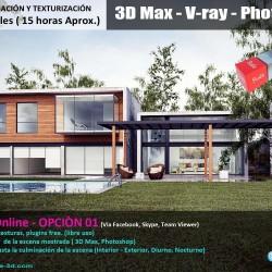 Proyecta-3D Studio | Curso Online de Iluminación y Texturización