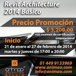Cursos de Revit Architecture 2014
