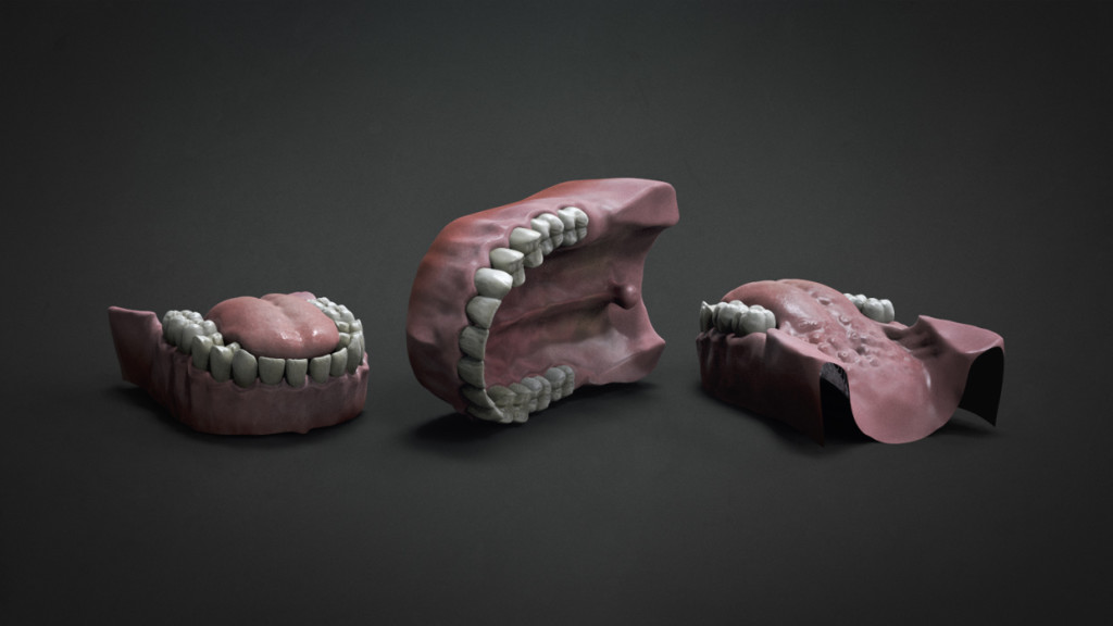ZBrush | Modelo 3D Gratis: Dentadura | ejeZeta