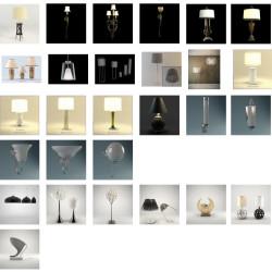 Modelos 3D Gratis LXVII | Lámparas