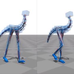 Locomoción Flexible para Criaturas Bípedas