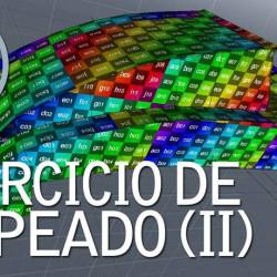 Mapeo 3D Complejo en MODO 701
