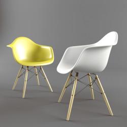 Modelos 3D Gratis LXIX | Silla DAW