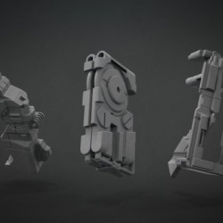 Set de Brochas Mecánicas para ZBrush