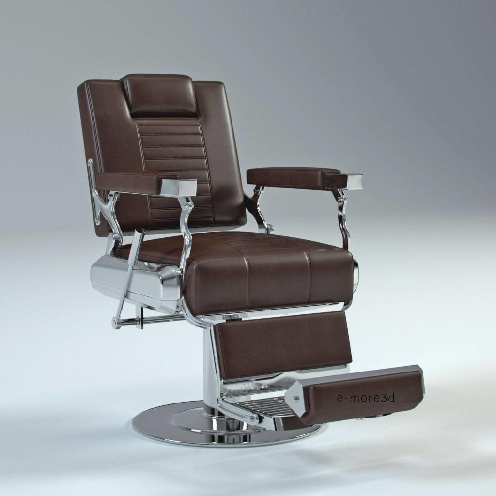 Modelos 3d gratis lxxxix silla de peluquer a ejezeta for Sillas para barberia