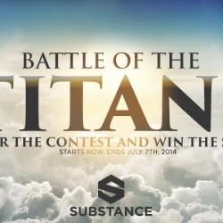 Concurso | Battle of the Titans
