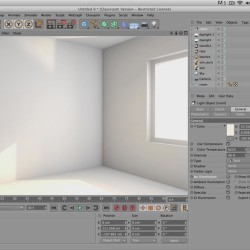 Tutorial de Iluminación Interior en Cinema 4D