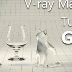 Cómo crear vidrio realista en V-Ray y 3ds Max
