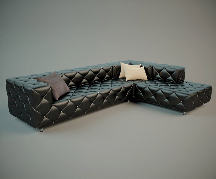 Stylish-Leather-Sofa-Render