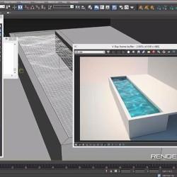 Cómo crear agua realista con Caustics en V-Ray 3.0