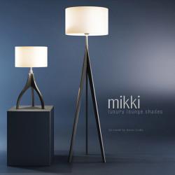 Modelos 3D Gratis XIV | Lámparas Mikki