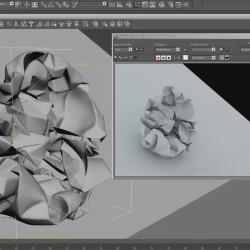 Cómo Arrugar Papel en 3ds Max con SimCloth