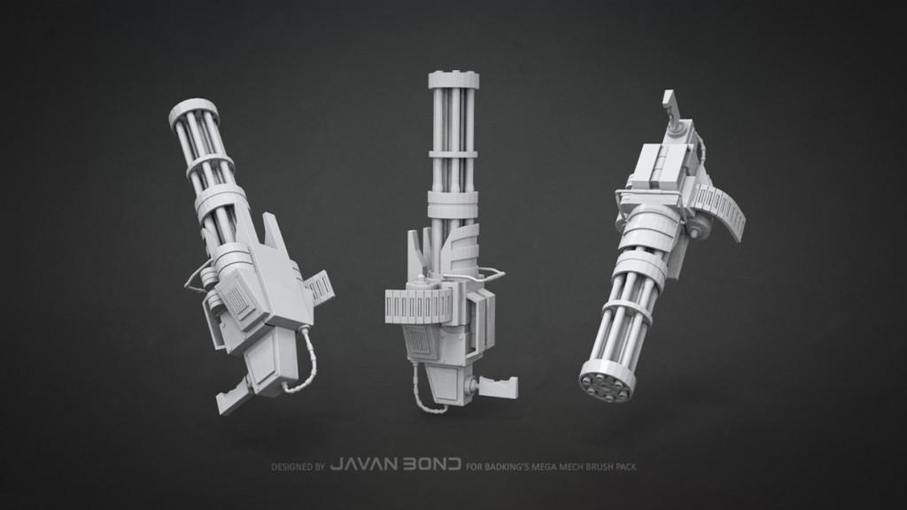 Javan_Bond_Mech_Gatling_Gun