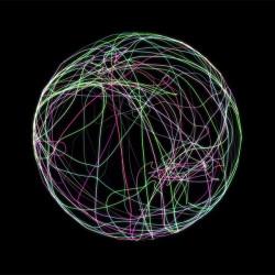 Creando Estelas de Luz sobre una Esfera en Cinema 4D