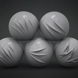 BadKing   Set de Brochas para Pliegues
