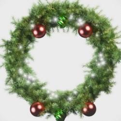 Modelando una Corona de Navidad