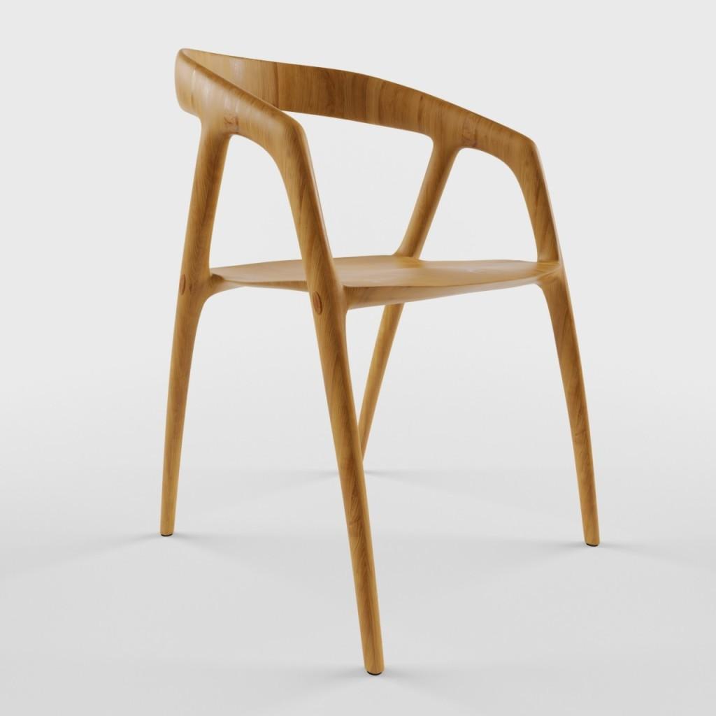 Modelos 3d gratis cxxxvi sillas ejezeta for Modelos d sillas d madera
