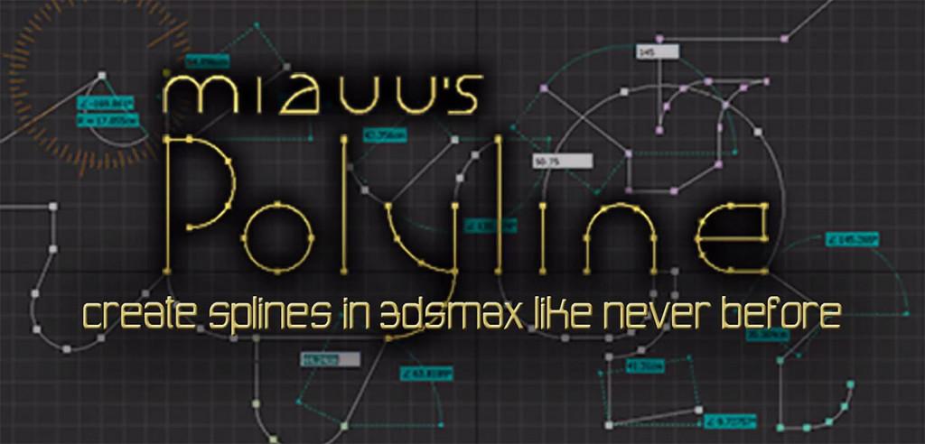 Scripts para 3ds Max | Polyline 1.0