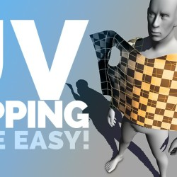 Tutorial de UV Mapping para Maya
