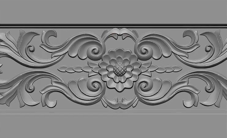 carving_wood_panel_maya_zbrush
