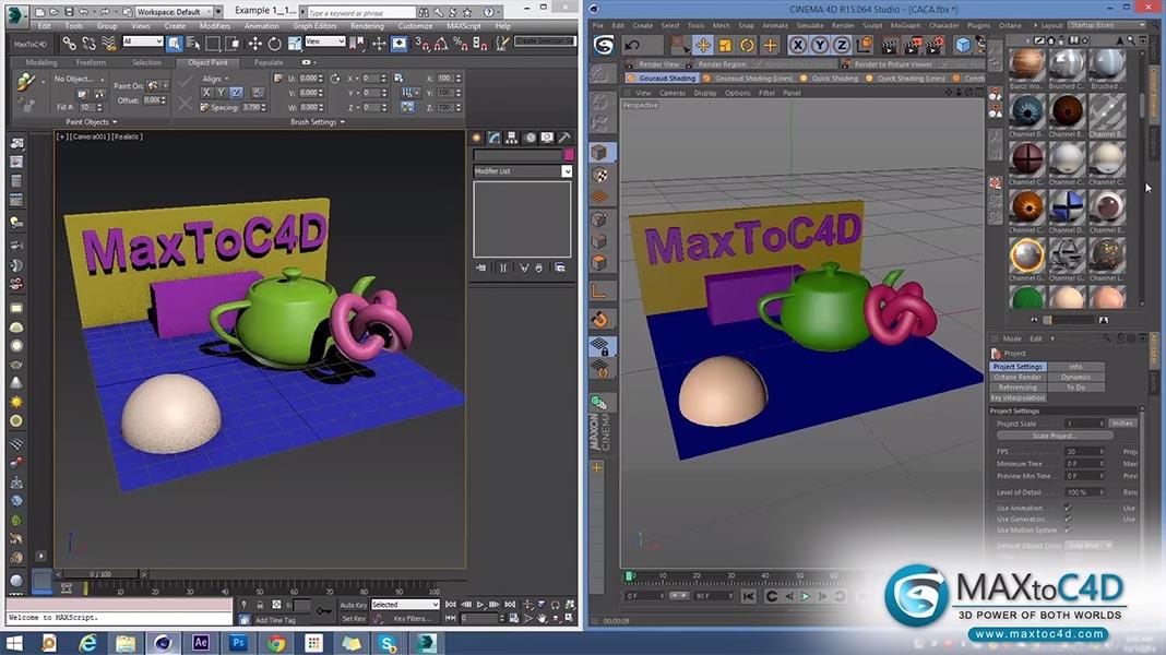 Scripts para 3ds Max   MaxToC4D