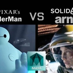 RenderMan vs Arnold Renderer