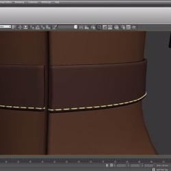 Cómo Crear Costuras con 3ds Max y ZBrush