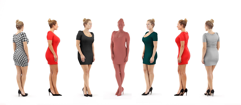 Modelos 3d gratis clviii mujer escaneada en 3d ejezeta for Rendering 3d online gratis