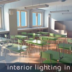 Iluminación interior y renderizado con Houdini