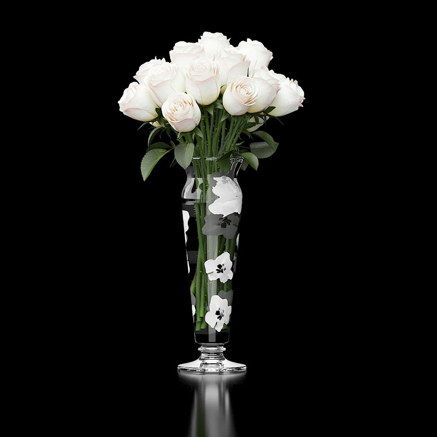 redpolygon_white_roses_3d_model