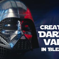 Modelando a Darth Vader con Blender