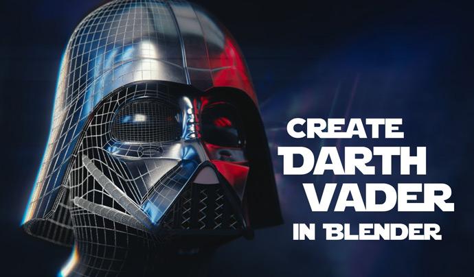 Blender-Creating-Darth-Vader-Helmet-Tutorial