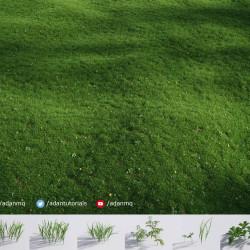 Tutorial de Forest Pack | Cómo crear césped realista