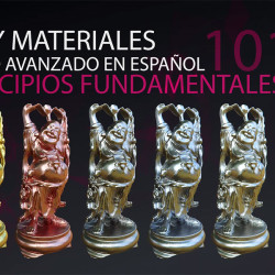 Curso para creación de materiales en V-Ray